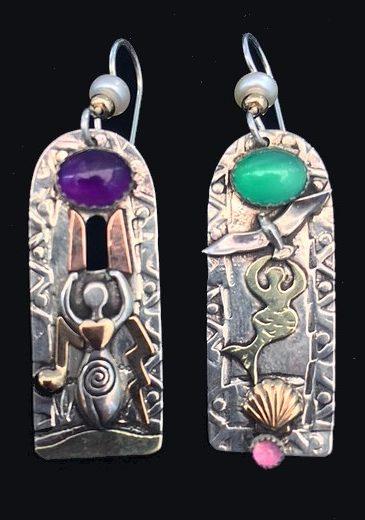 Earrings L Tablet Spirit Jeweler